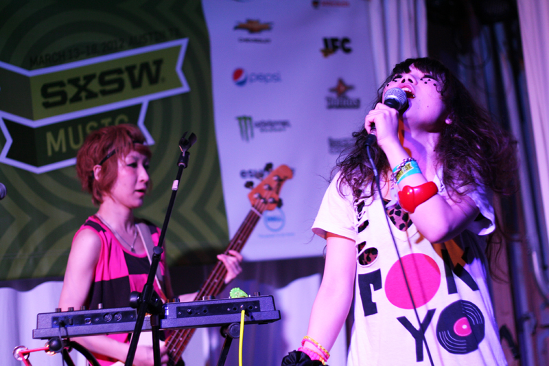 Toquiwa at Swan Dive in Austin, Texas during SXSW