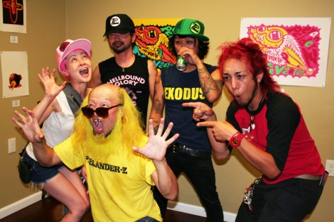 Peelander-Z at Guzu Gallery