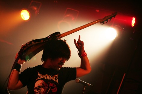 Electric Eel Shock bassist Kazuto Maekawa.
