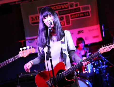 3rd Line Butterfly perform during SXSW 2013.