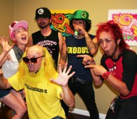 Peelander Yellow's Art Show Opens at Guzu Gallery With Acoustic Set
